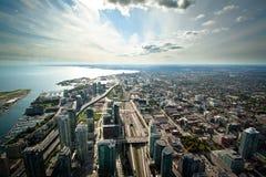 Toronto horisont Royaltyfri Bild
