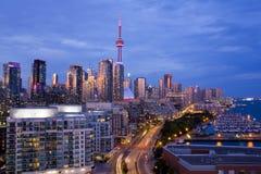 Toronto horisont Arkivfoto
