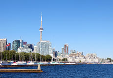 Toronto horisont Arkivbilder