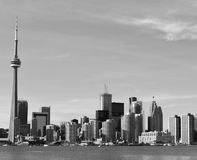 Toronto horisont, Kanada Royaltyfri Bild