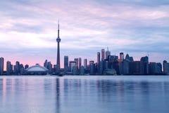 Toronto, horizon Images libres de droits