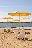 Toronto HTO Park Beach Royalty Free Stock Photos