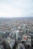 Toronto i stadens centrum vertikal sikt Royaltyfri Bild