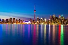 Toronto im Stadtzentrum gelegen Stockfotos