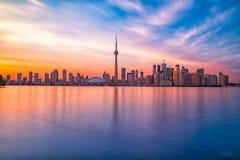 Toronto im Stadtzentrum gelegen stockfotografie