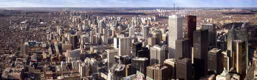 Toronto im Stadtzentrum gelegen Lizenzfreies Stockfoto