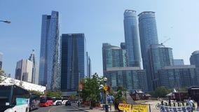 Toronto-im Stadtzentrum gelegene Gebäude Stockbild