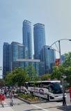 Toronto-im Stadtzentrum gelegene Gebäude Lizenzfreie Stockbilder