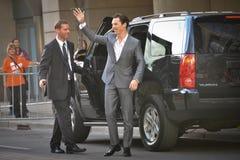 2013 Toronto International Film Festival. TORONTO - SEPTEMBER 6: Actor Benedict Cumberbatch arrives at the Toronto International Film Festival for his new film Stock Images
