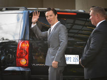 2013 Toronto International Film Festival. TORONTO - SEPTEMBER 6: Actor Benedict Cumberbatch arrives at the Toronto International Film Festival for his new film Royalty Free Stock Image