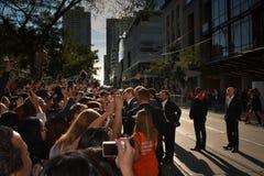 2013 Toronto International Film Festival. TORONTO - SEPTEMBER 6: Brad Pitt meets fans at the Toronto International Film Festival for his new film 12 Years a Royalty Free Stock Photos