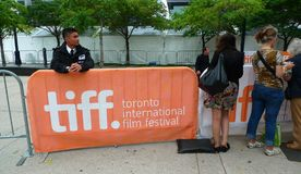 Toronto International Film Festival star spot zone Royalty Free Stock Photography