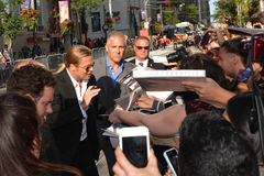Toronto Internationalfilmfestival 2013 Arkivbilder