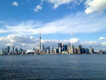 Toronto Island View Royalty Free Stock Images