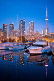 Toronto jachtu klub Fotografia Royalty Free