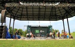 Toronto Jazzfestival royaltyfria foton