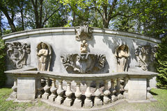 TORONTO-JUNE 20.2014 RELICS in Guildwood Park in Toronto, Canada Royalty Free Stock Photos