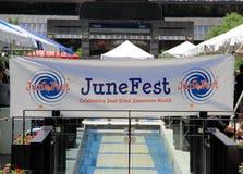 Toronto Juni Fest Stockbild