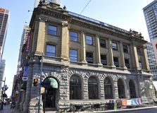 Toronto, am 24. Juni: Im Stadtzentrum gelegenes altes Postgebäude von Toronto von Ontario-Provinz in Kanada lizenzfreie stockfotografie