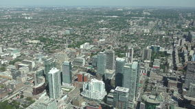 Toronto Kanada antenn i 4K arkivfilmer