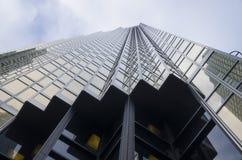 Toronto Kanada - Januari 27, 2016: Skyskrapor i i stadens centrum Toronto, finansiellt område Royaltyfria Foton