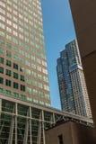 Toronto KANADA, Październik, - 10, 2018: Wysocy budynki kanadyjczyk m obraz stock