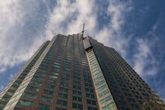 Toronto KANADA, Październik, - 10, 2018: Wysocy budynki kanadyjczyk m obrazy stock