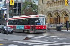 Toronto Kanada spårvagn/spårvagn Arkivbild