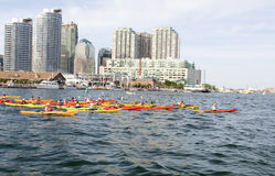Toronto Kayaking Stock Image