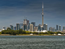 Toronto KN-Kontrollturm Lizenzfreies Stockbild