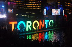 Toronto Kołysać Obraz Stock