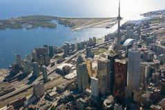 Toronto-Kontrolltürme Stockfoto