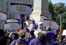 Toronto Labor Day Parade Royalty Free Stock Photo