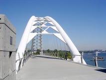 Toronto Lake Humber Bay Arch Bridge 2004 Royalty Free Stock Image
