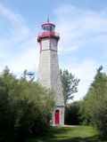 Toronto Lake lighthouse 2004 Stock Photo