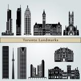 Toronto landmarks and monuments Stock Photo