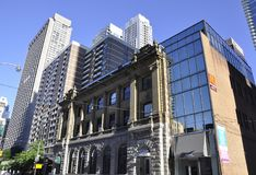 Toronto, le 24 juin : Vieux bâtiment du centre de bureau de poste de Toronto de province d'Ontario dans le Canada Photo stock