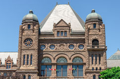 Toronto Legislative Building in Toronto, Ontario, Canada Royalty Free Stock Images