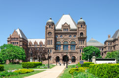 Toronto Legislative Building in Toronto, Ontario, Canada Stock Photography