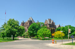 Toronto Legislative Building in Toronto, Ontario, Canada Royalty Free Stock Photo