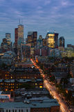 Toronto lights Royalty Free Stock Images