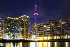 Toronto linia horyzontu Obrazy Stock