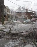 Toronto lodowa burza zdjęcia royalty free