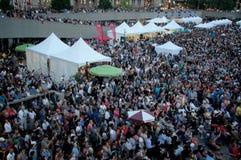 Toronto loves Toronto Jazz Fest Stock Photos