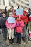 Toronto ludzie spotykają w czuwaniu Fotografia Royalty Free