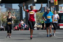 Toronto Marathon Stock Photography