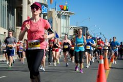 Toronto Marathon Stock Photo