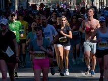 Toronto Marathon Royalty Free Stock Photography