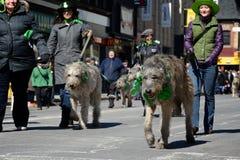 Toronto's annual St. Patrick's Day parade Stock Photos