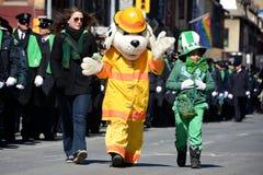 Toronto's annual St. Patrick's Day parade Royalty Free Stock Photo